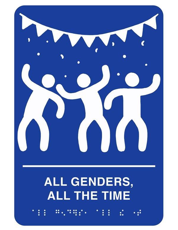 彻底懵了!男、女厕所标识居然被换成这样
