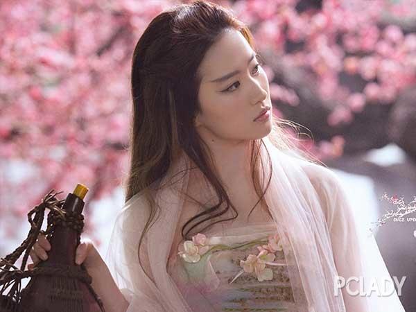 三生三世吻戏美如画 而我只想学刘亦菲的斩男桃花妆