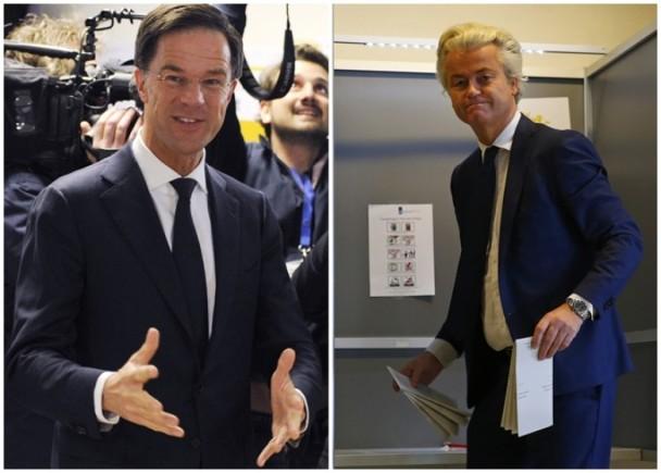 """快讯!民粹受阻?!荷兰大选投票结束""""荷版特朗普""""料落败"""