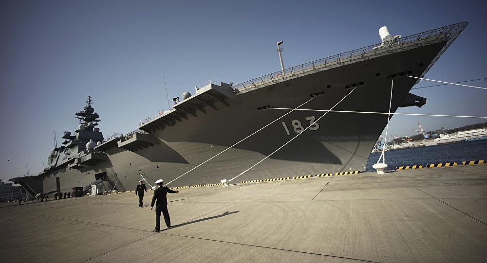 俄媒:出云号赴南海炫耀实力 中国或出动辽宁舰
