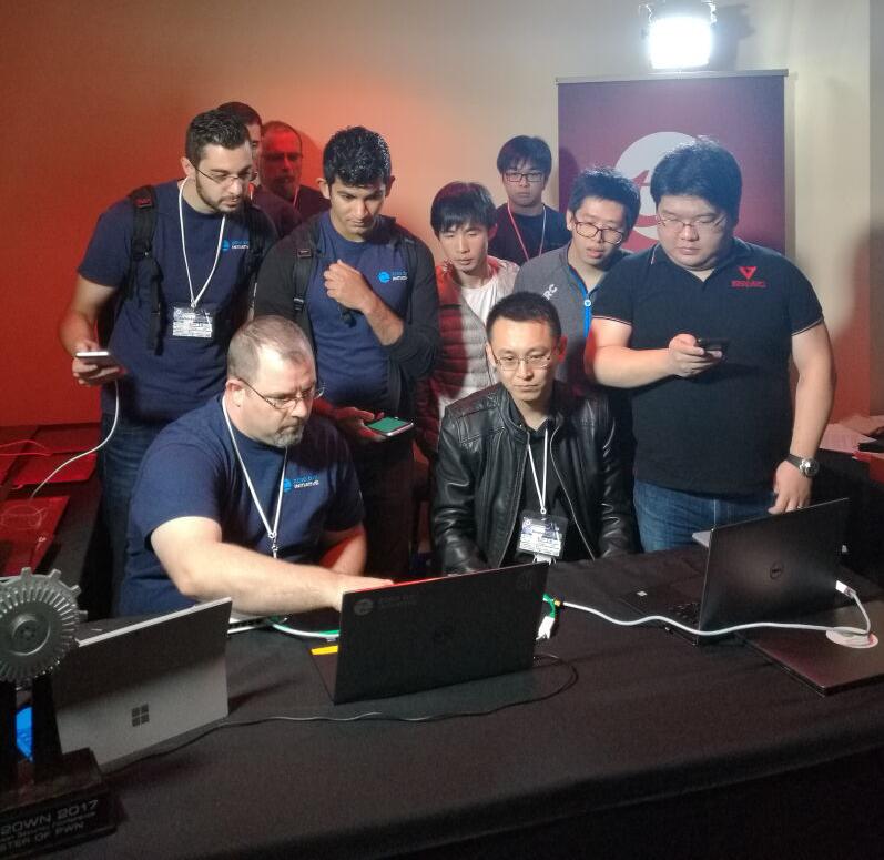 三国大战Pwn2Own黑客大赛 360成为首支冠军团队