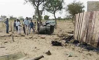 印度苏30MKI战机坠毁3人受伤
