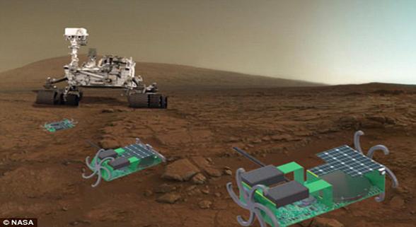NASA研发新款机器人 可以被折叠到巴掌大小