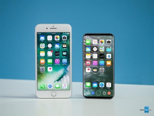 外形太惊艳!iPhone 8外形渲染设计图曝光