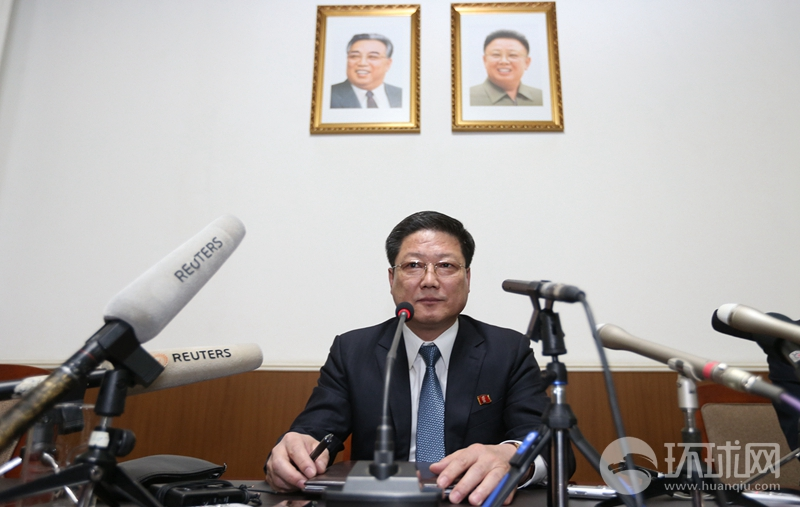 朝鲜驻华公使:朝鲜半岛处在核战争边缘!