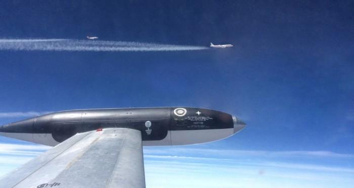 研究:生物燃料可减少飞机微粒排放和凝结尾流的形成