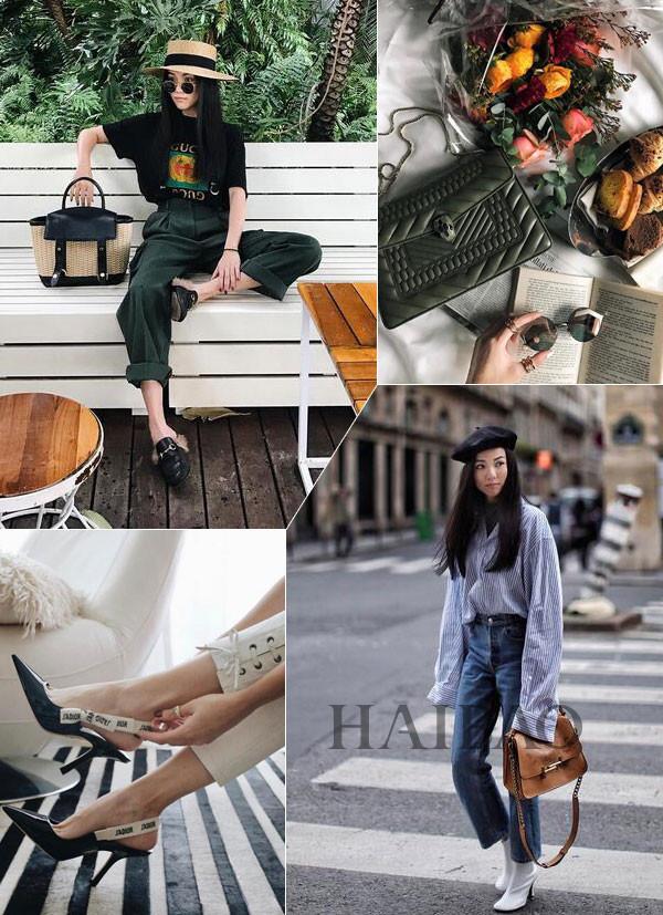 是穿搭的模板也是行走的教科书!时尚博主&设计师Yoyo Cao近期配饰合辑
