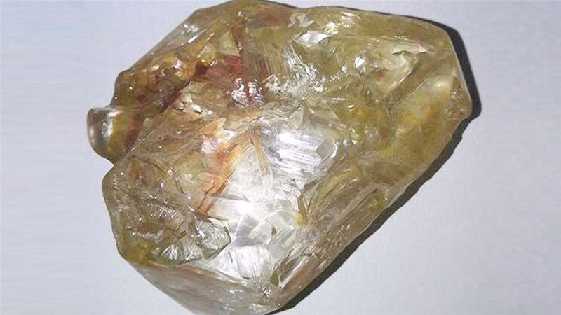 塞拉利昂发现一颗重量超过700克拉的钻石