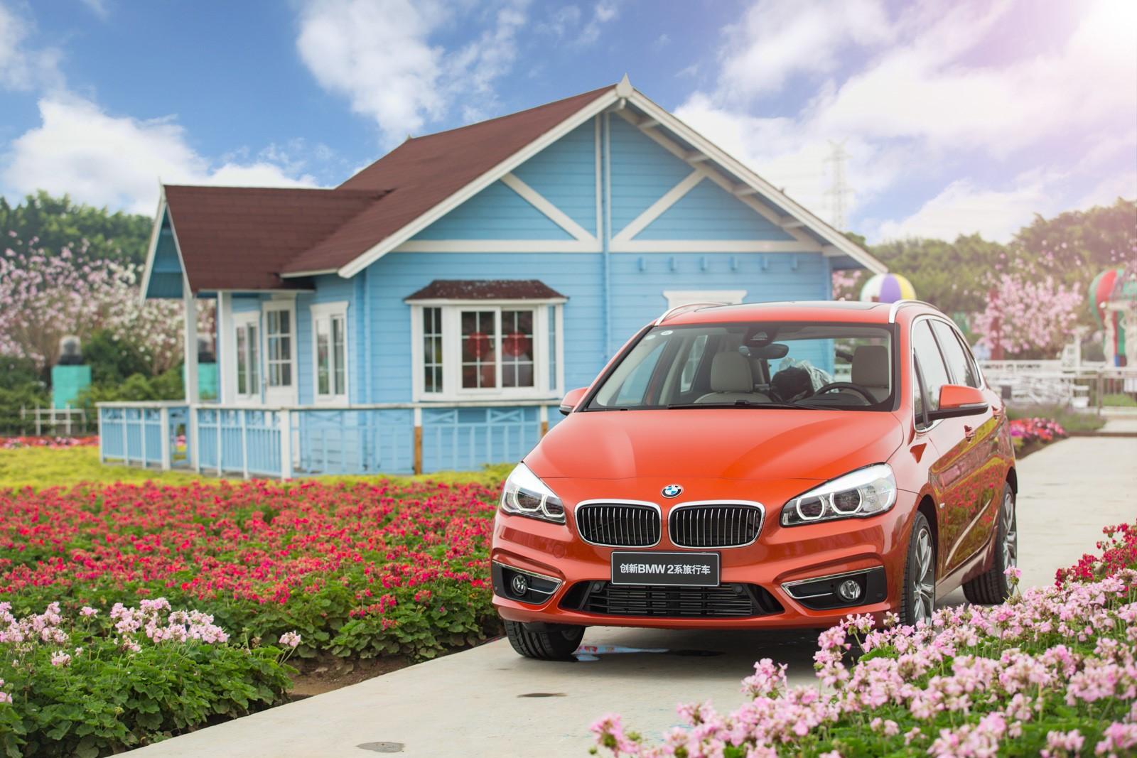 不负春光不负卿 创新BMW 2系旅行车灵动多彩生活