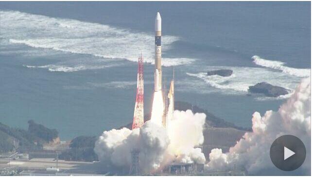 日政府发射情报收集卫星 用于监视朝鲜导弹发射动向