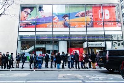 Switch游戏主机产量2017年财年将至少提高一倍