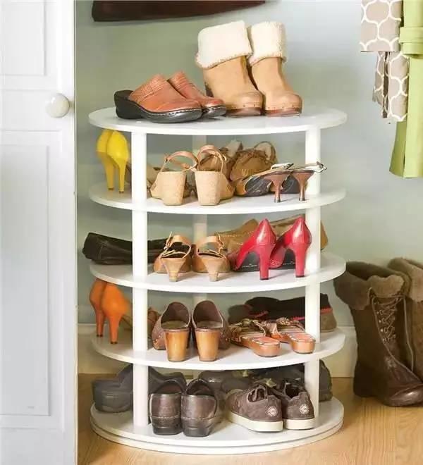 最聪明的鞋子整理方法,再买100双也不怕~