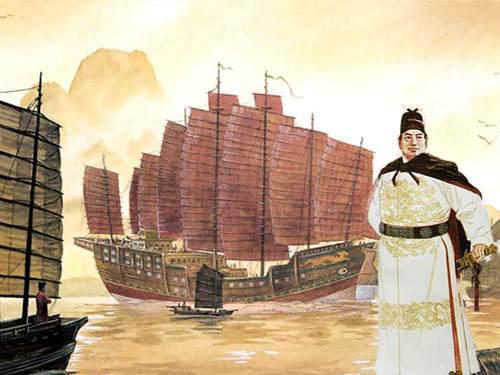 """从郑和下西洋到军舰""""下饺子"""",厉害了海军!"""