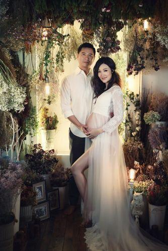 赵薇怀孕照片_她是赵薇老公前任 嫁富豪怀孕7月仍美_娱乐_环球网