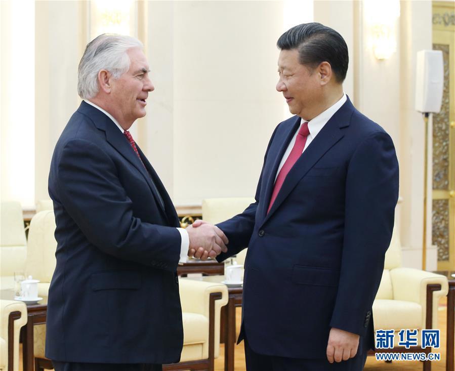 社评:蒂勒森在北京经历的谈话立意最高