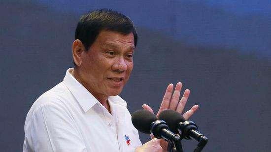 """菲总统批对华抱怨是""""找茬"""":你要我做什么?"""