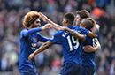 英超-费莱尼破门钢巴送礼 曼联3-1超阿森纳排第5