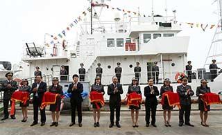 日本送越南渔政船已经交付