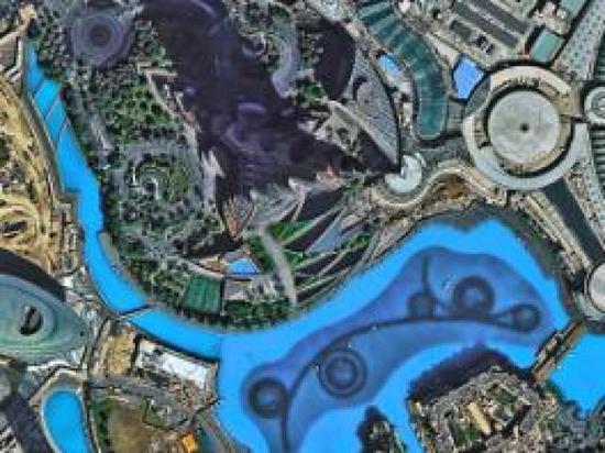 国产卫星高景一号传高清图:鸟巢钢结构清晰可见
