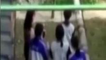 初二女生被连扇耳光拉扯头发 遭群殴不敢反抗