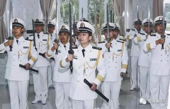 海军首次举行授剑仪式 军方3大佩剑都长啥样?
