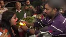 印度最火食物Fire Pann  吃时感觉嘴巴在燃烧