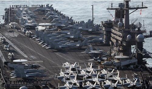 美韩军演项庄舞剑意在沛公 大杀器云集威胁提升
