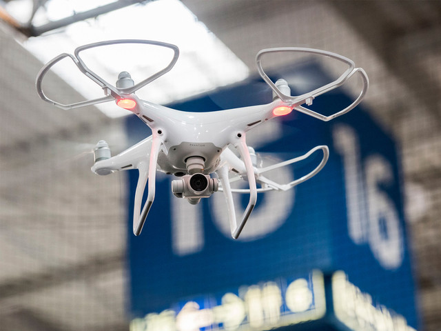 无处不在的无人机 CeBIT揭示新应用场景