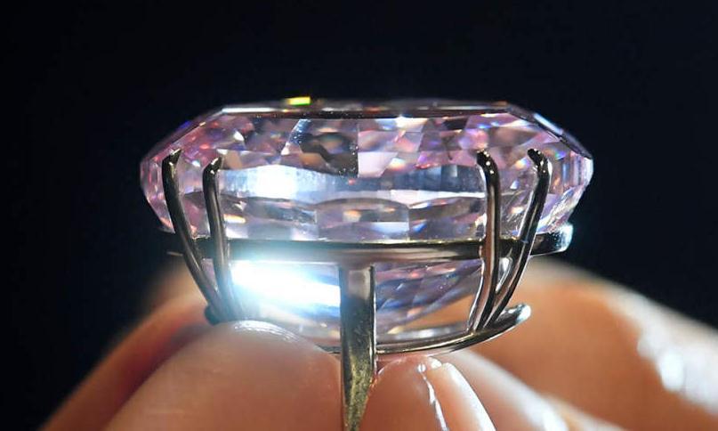 """世界最贵钻石""""粉红之星""""将拍卖 估价超6千万美元"""