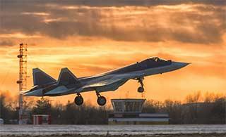 俄第8架T50五代机正在加紧试飞