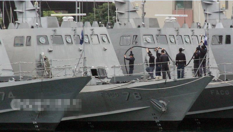 台军称军舰撞渔船因天气不好:雷达上看不到渔船