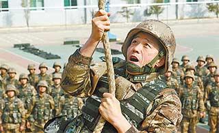 特种兵大校被称为金牌武教头