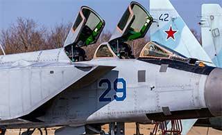 俄罗斯海军米格31战机仍在服役