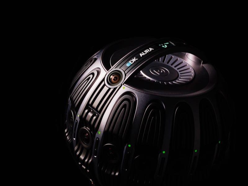 量子视觉发布VR摄影机AURA 性能专业服务稳定