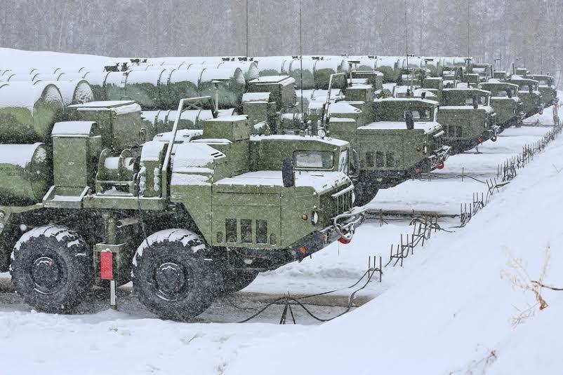 俄高官:已向中国交付首批S400防空导弹系统