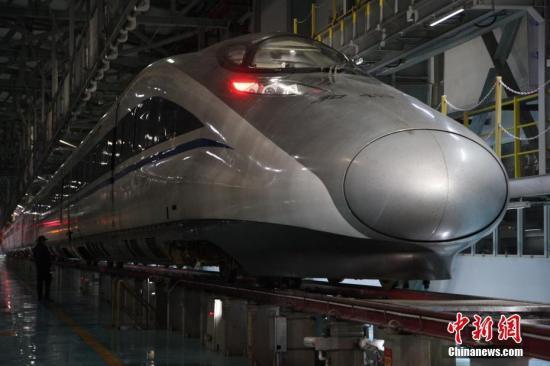 4月16日起全国铁路实行新列车运行图 增开动车25.5对