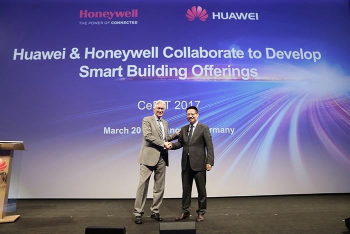华为宣布与霍尼韦尔合作 提供智能楼宇解决方案