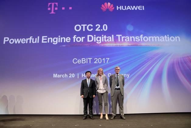 华为携手德电于CeBIT2017分享开放电信云成功案例