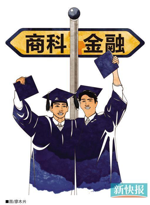 超四成留学生选商科 半数金融研究生说就业难