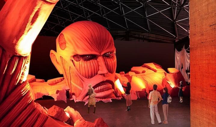 日本富士急游乐园4月起限时推出《进击的巨人》主题园区