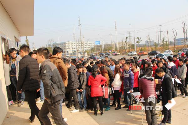 格力电器宁乡生产基地开春招工忙 技术熟练工需求旺