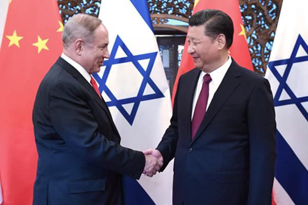 习近平会见以色列总理内塔尼亚胡