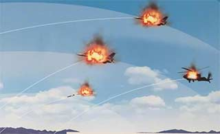 中国参展防空导弹宣传画露玄机