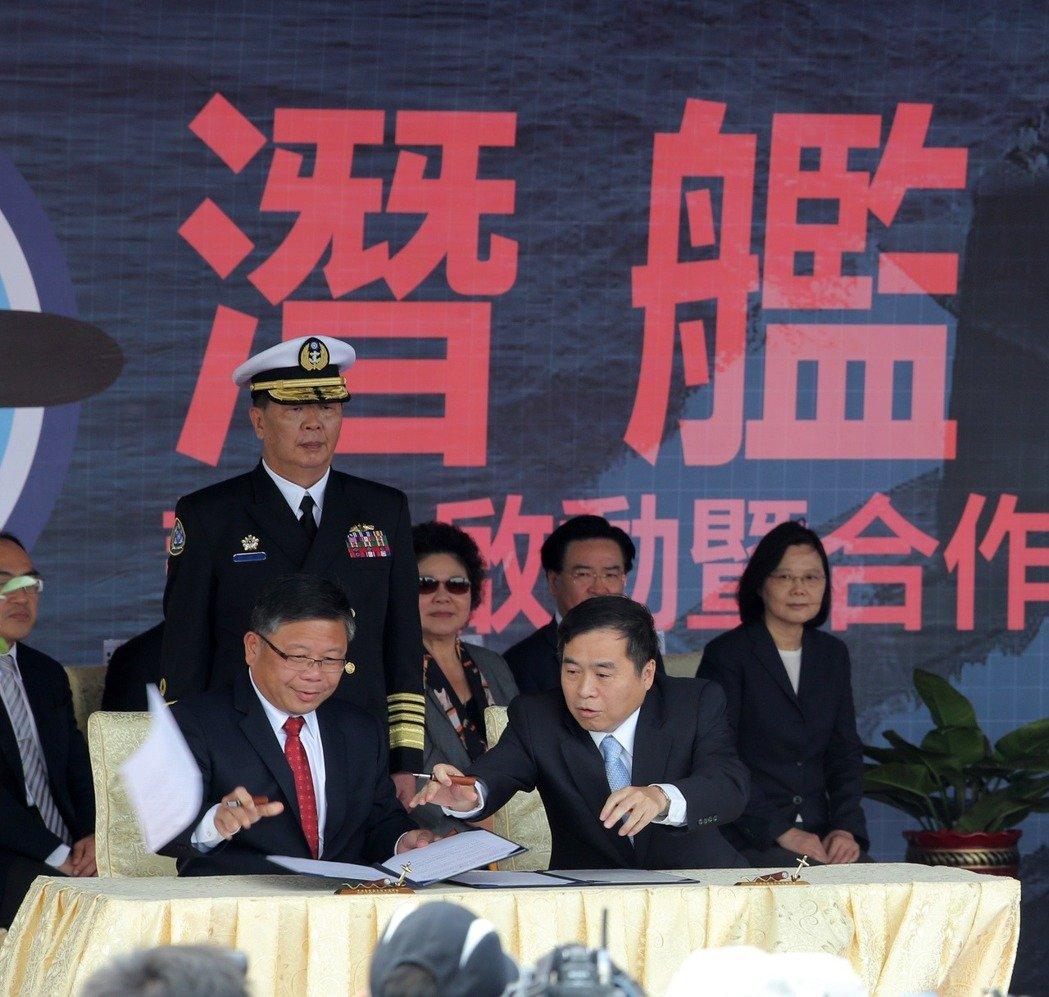 """明升m88.com""""潜艇自造""""业者称技术不输韩国 关键零件还需美国帮忙"""
