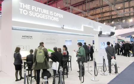 """日企在汉诺威博览会展示""""物联网""""最新技术"""