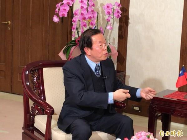 谢长廷:美从未承认台湾是中国一部分 保护台湾就是保护日本