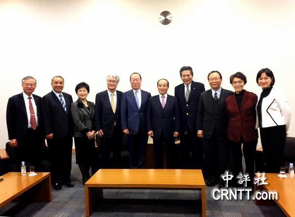 """王金平率""""蓝委""""访问日本 将于前首相森喜朗进行会谈"""