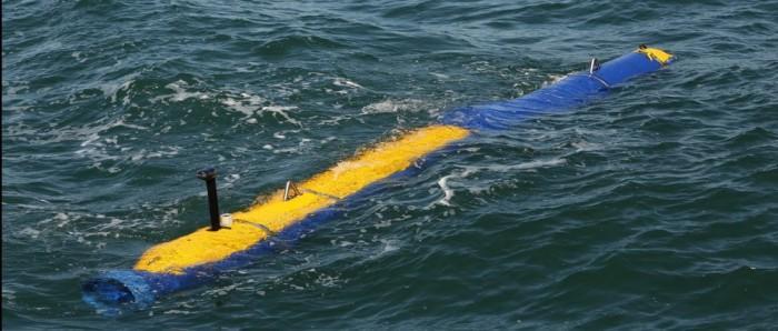 美国海军正评估测试Knifefish水下探雷机器人