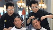 囧闻一箩筐 顾客把理发师的脑袋剃成了阴阳头