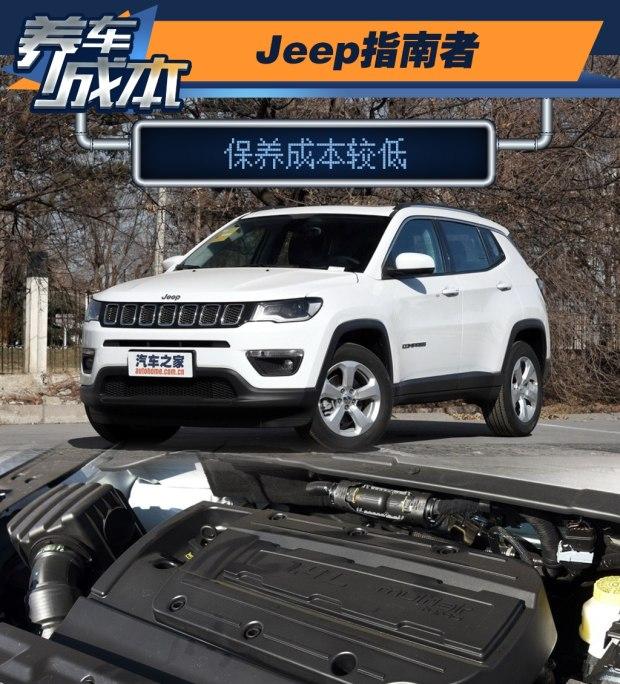 保养成本较低 Jeep指南者养车成本解析